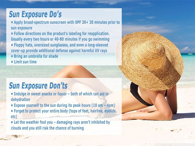 Do's and Dont's for Sun Exposure by Island Plastic Surgery